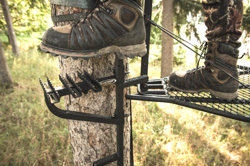 Take control of your safety and make entry into your Treestand Safer than ever with The PowerStep™ by Hurricane® Safety Systems
