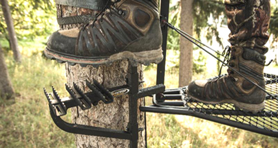 Treestands Safer than Ever with PowerStep