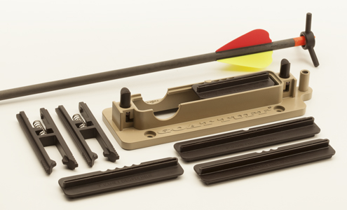 Everything you need is in the package except glue, arrow shafts and vanes.