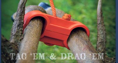 Tag 'em & Drag 'em with Leg Cuff