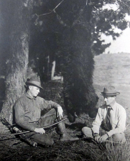 In the early 20th century a common love of archery brought together two of bowhunting's most dynamic and influential  duos. Dr. Saxton Pope and Art Young.