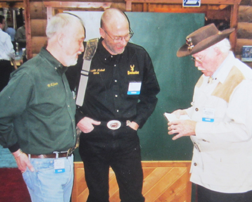 Serving as BOWHUNTER magazine Editor/Founder for 35 years provided ample opportunity for me to meet and know many individuals who helped write archery and bowhunting history. This is a photo of me with Dwight Schuh and Tom Jennings is case in point.