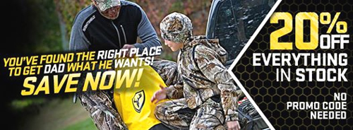 SCENTBLOCKER: 20% Off Everything in Stock – For Father's Day