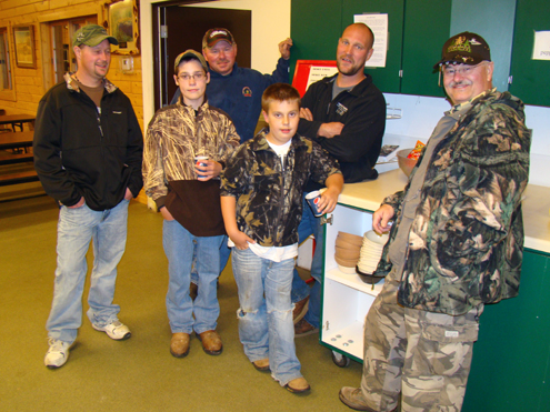 Some volunteers at the UFFDA Hunt.