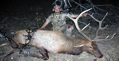 Grim Reaper Goes Elk Hunting