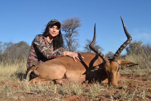 And with her beautiful impala.