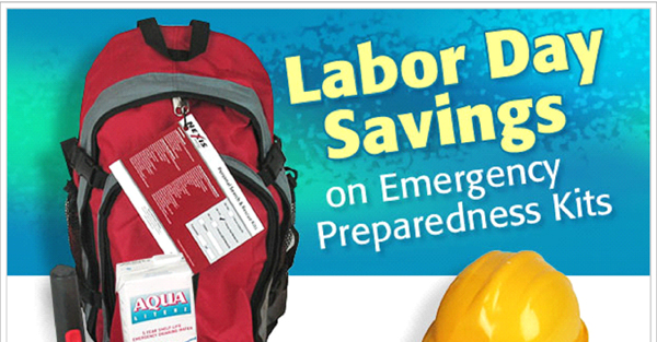 Labor Day Emergency Kit Sale – Save Now