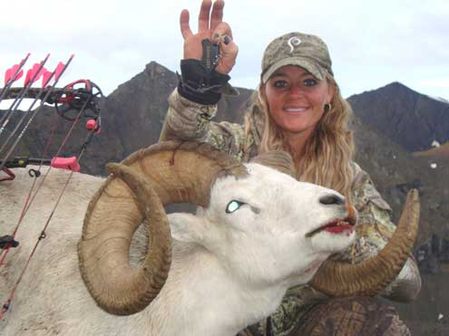 Rebecca Francis is another lady hunter whose posting of successful game images elicited a hate filled backlash from the anti hunting crowd.