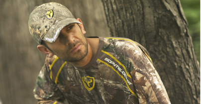 New ScentBlocker technology breaks through in a scent control garment.