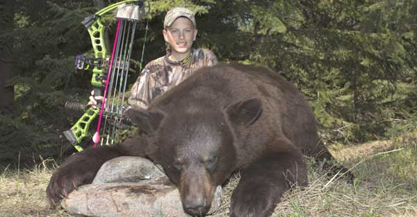 Raised Hunting's Easton Takes a Redemption Black Bear