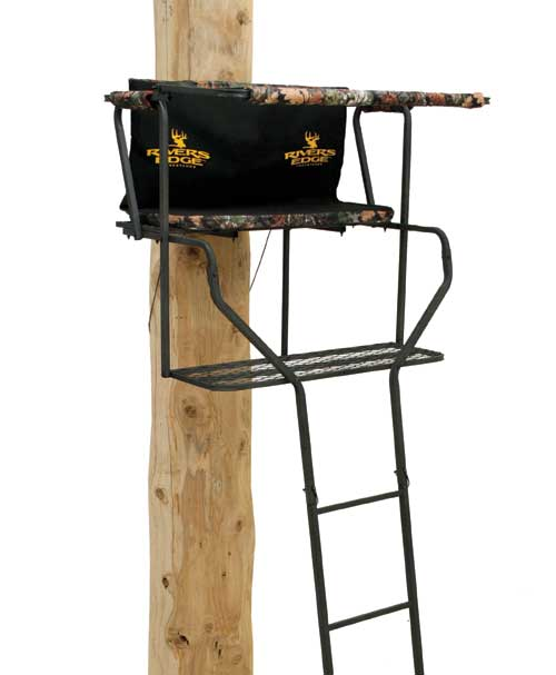 This is the model River's Edge Ladder Stand used.