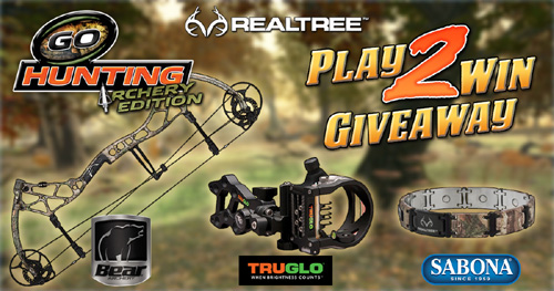 Play the GoHunting Game & Enter the Sweepstakes Too!