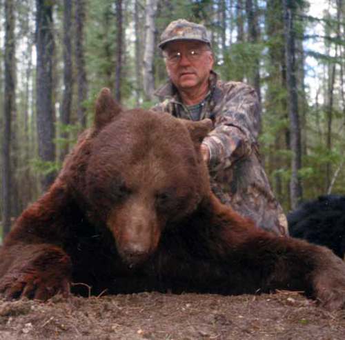 When taken, this chocolate was the Alberta bow black bear record.