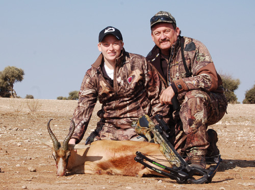 The Copper Springbok was next to fall.