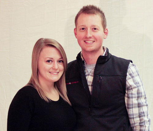 Jared Knerr, S3DA's new State Coordinator for Missouri pictured with his wife, Sarah