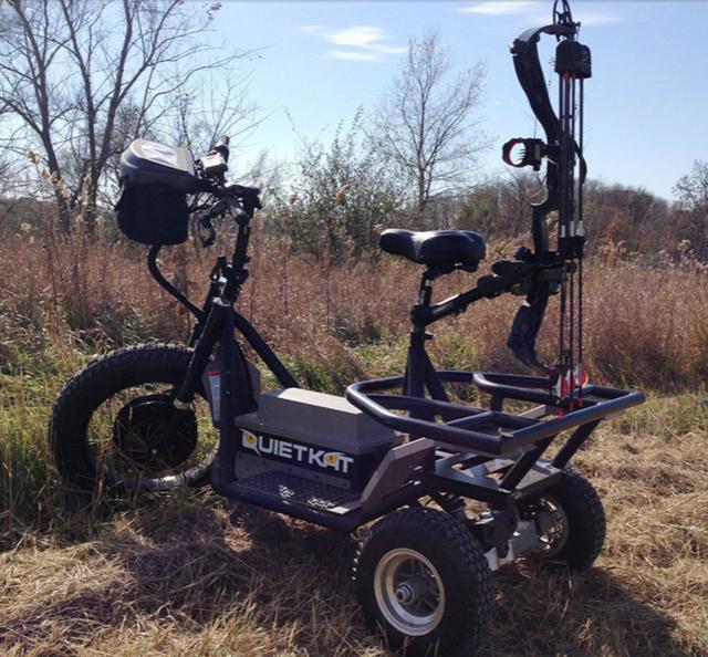 QuietKat Electric Hunting Vehicle