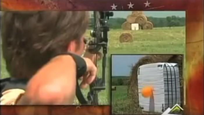 Randy Oitker Attempts 200 Yard Shot On TV Show