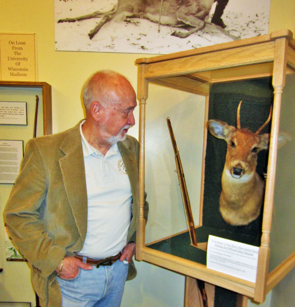 Wisconsin bowhunting legend and broadhead manufacturer Roy Case killed this young buck and made bowhunting history in 1930. I corresponded with Roy and sent him a copy of BOWHUNTER magazine's debut issue in 1971. I have letters, plus a signed photo of him, on display in my home office