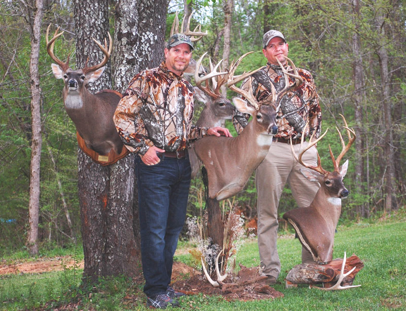 Bowhunting small acreage has certainly paid off for John and Jim Scott.