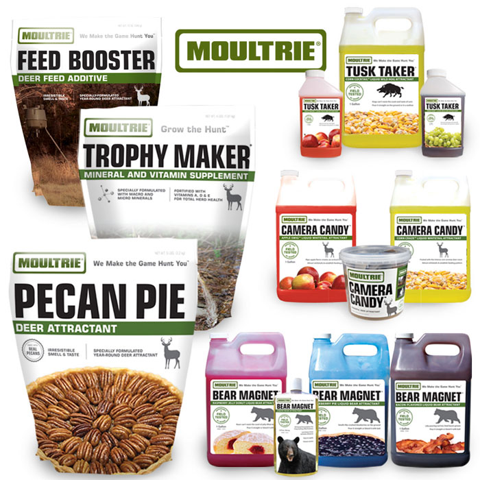 Moultrie Now Offers Products For Total Game Management  With Addition Of Attractants and Minerals