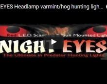 Night Eyes Headlamp