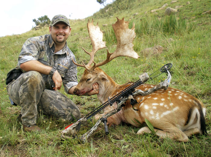 My first trophy stag I had taken in 2007 in Mpumalamga