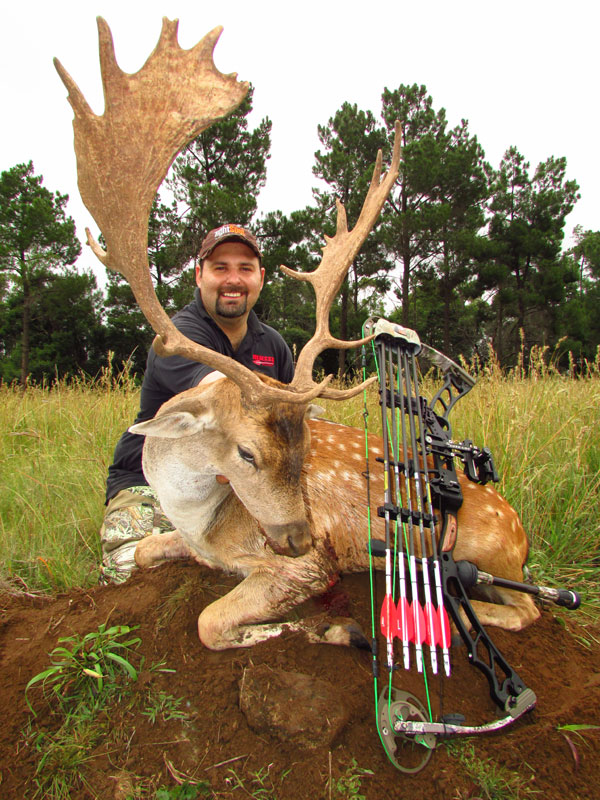 My trophy stag taken with Abrie Arlow of Pronk safaris
