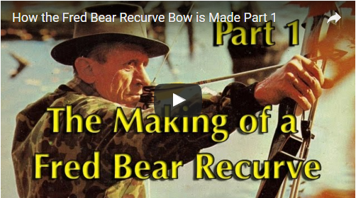 Making a Fred Bear Recurve: Part 1