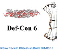 Gear Review: Def-Con 6 From Obsession Bows