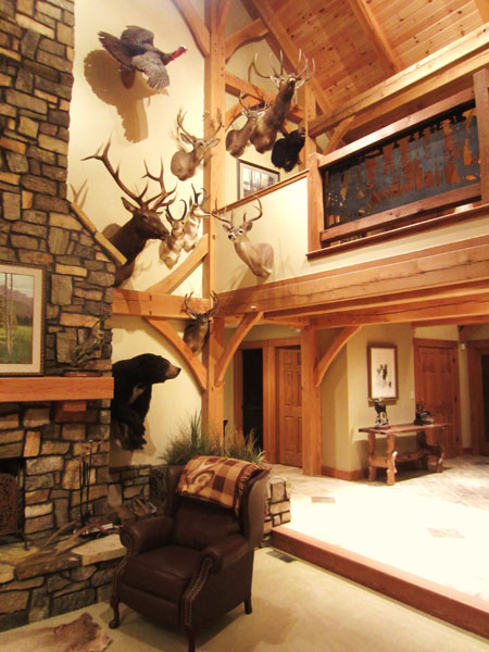 There are 10 Pope and Young mounts in this corner of my trophy room. None, including the bull elk and pronghorns, was arrowed at a distance of more than 35 yards.