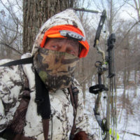 Never hunt from an elevated stand without wearing a safety harness to prevent nasty falls that can injure or kill. Extra care should be taken getting in or out of a treestand in cold or wet weather.