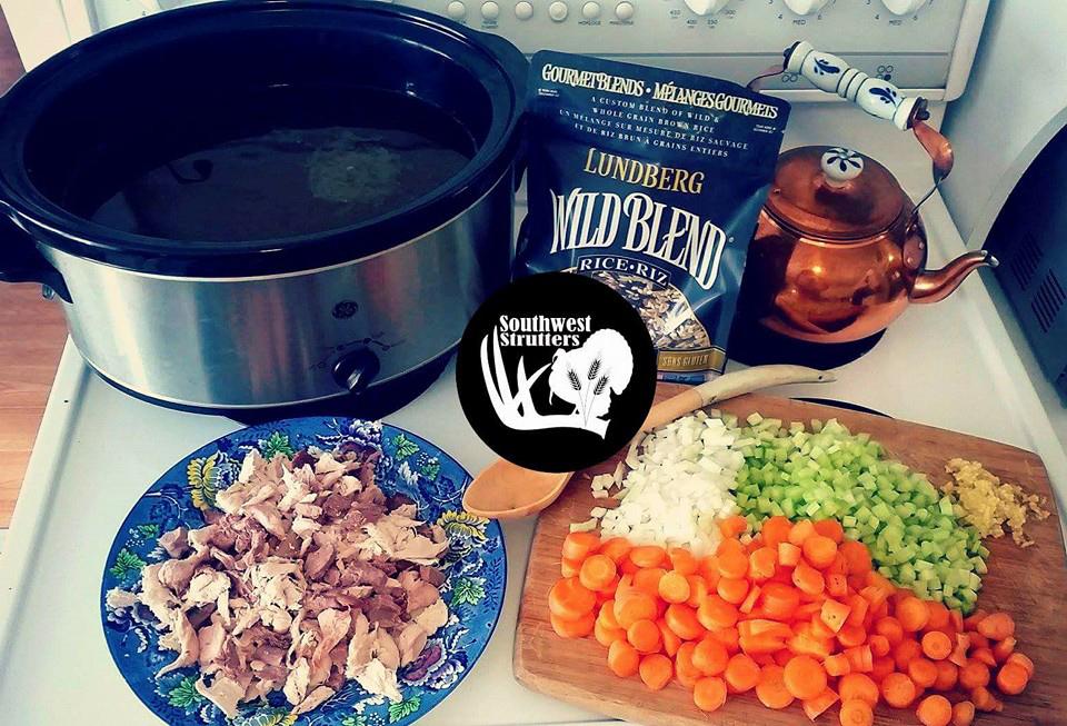 Ummm Good! Wild Turkey Soup.