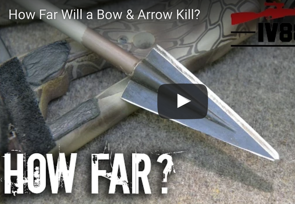 Testing The Kill Range Of The Bow And Arrow