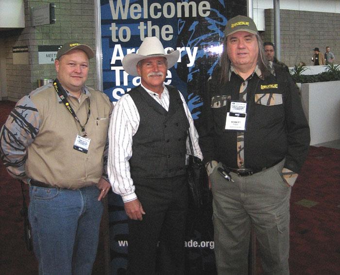 Rich, Robert and Tim Getts at ATA, 2007.