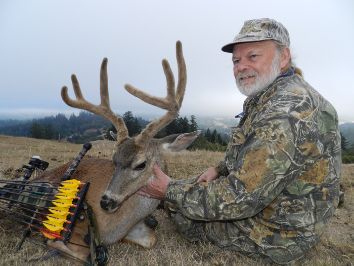 This black tail deer from Northern California was deer species #3 on my quest.