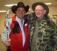 Frank Addington Jr. and Dick Mauch.