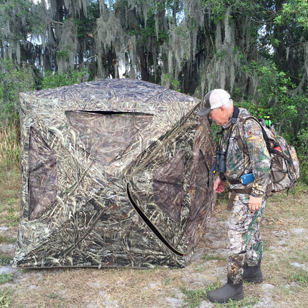 Outdoor Writer Joe Byers checks out the Field & Stream Ultimate Ground Blind.