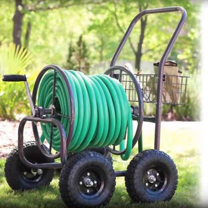 Liberty 4-Wheel Cart w basket