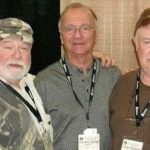 Here we are at a recent PBS meeting. Barry on the left (hat tilted is his normal way, me in the middle.
