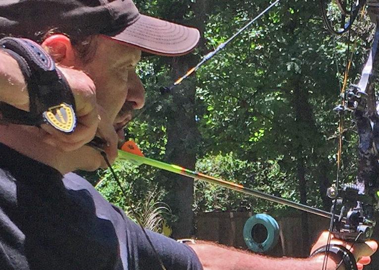 Rick Philippi shooting Zombies!