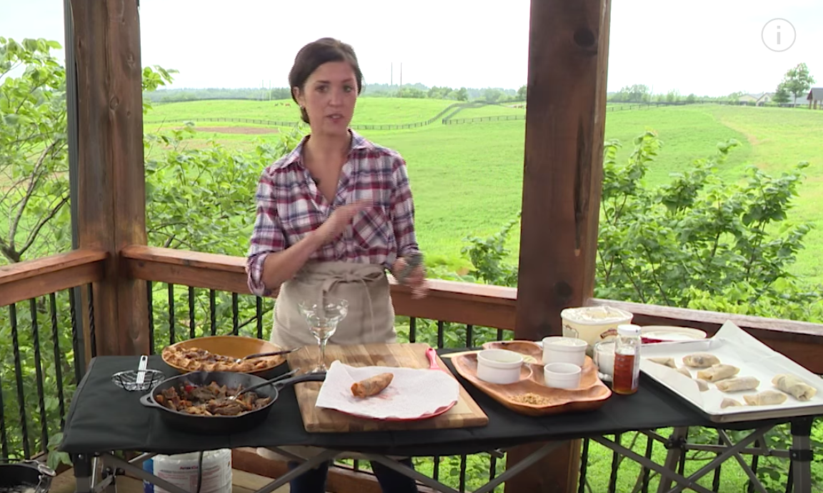 Make Delicious Egg Rolls With Hannah McCauley