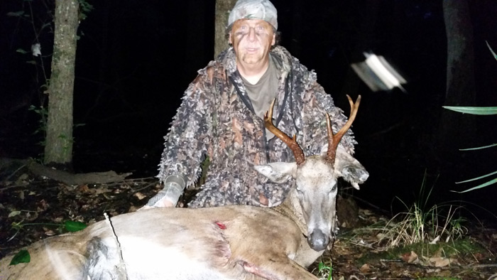 The Rocket Buck only went about 70 yards before going down for the last time.
