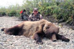 9 Foot Tall Alaskan Brown Bear at 20 Yards with Frank Noska