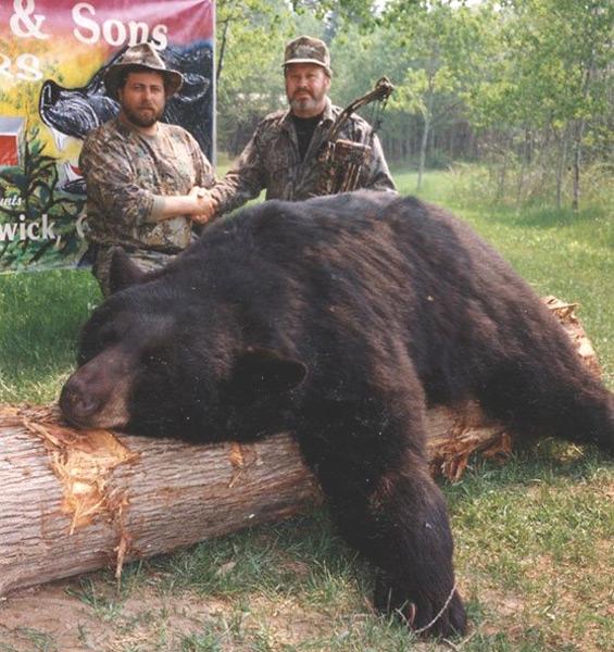 Frank senior with his 1997 bear.