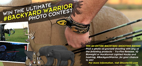 Shooter 3D Targets Kicks Off #BackyardWarrior Photo Contest