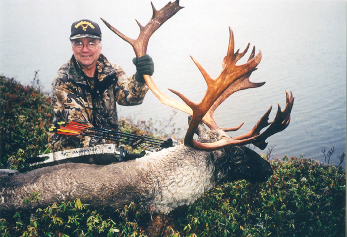 I was very ill when I harvested this huge woodland caribou.