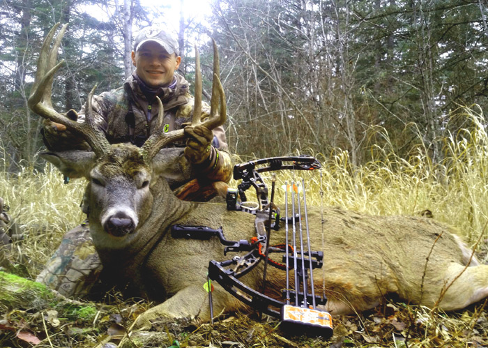 Knowing and understanding correct scent control helped the author take this nice buck.