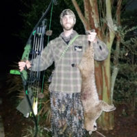 Chris Rowland takes this nice bobcat with traditional equipment.