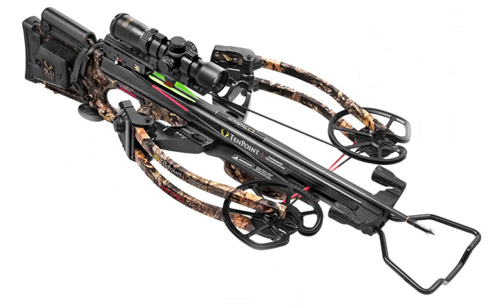 The Carbon Nitro RDX 'Reverse Draw' Crossbow from Ten Point.