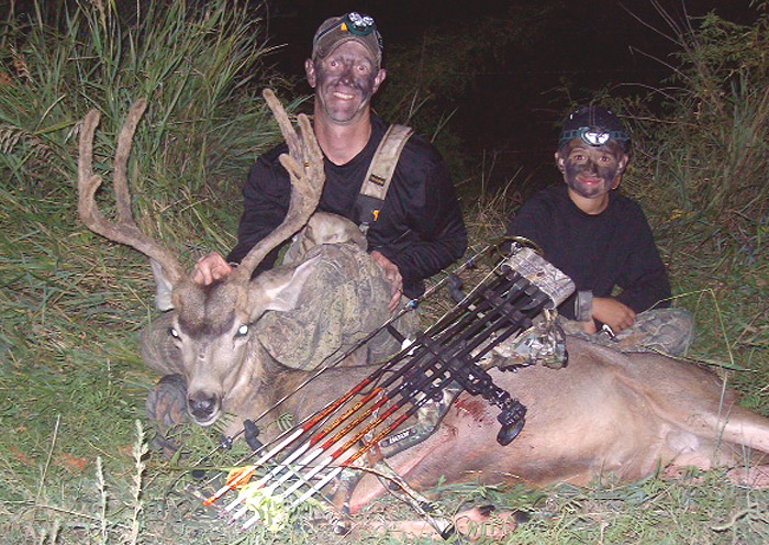 Dad!  BIG Buck!